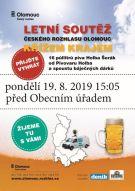 Soutěž Českého rozhlasu Olomouc v Mikulovicích  19.8.2019.