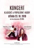 Koncert klasické a populární hudby - 23. 10. 2019 1
