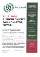 2. mikulovický 24h non-stop futsal - 21. 2. 2020 1
