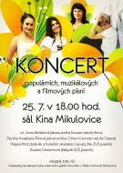 Koncert populárních,muzikálových a filmových melodií - 25. 7. 2020 1